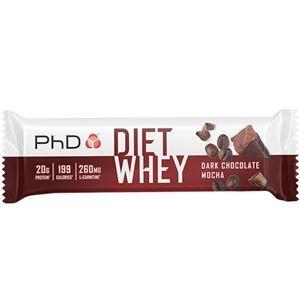 PHD Nutrition Diet Whey Bar 65g dark choc mocha