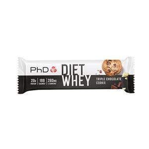PHD Nutrition Diet Whey Bar 65g triple choc cookie