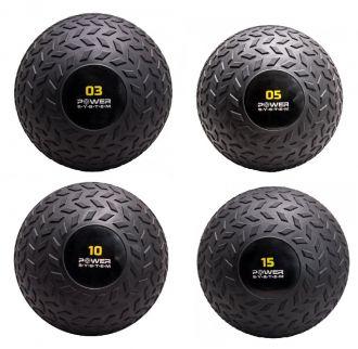 POWER SYSTEM Posilovací míč SLAM BALL