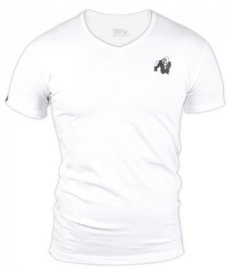 GORILLA WEAR Essential V-Neck T-Shirt White