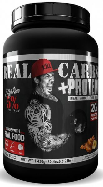 5% NUTRITION RICH PIANA Real Carbs + Protein