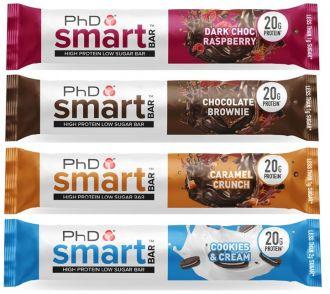 Smart Bar 64g salted fudge brownie