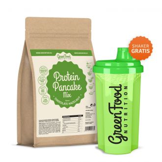 GreenFood Proteinové palačinky bezlepkové 500g Csoki-erdeimogyoró