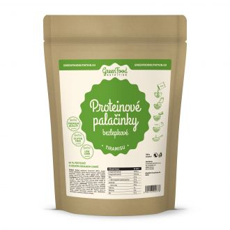 GreenFood Proteinové palačinky bezlepkové 500g tiramisu