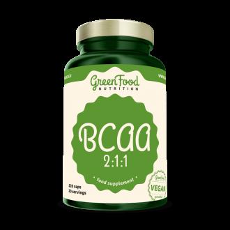 GreenFood BCAA 2:1:1 120 kapszula
