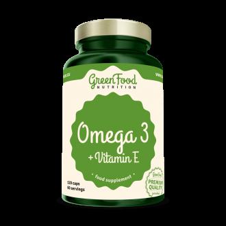 GreenFood Omega 3 120 kapszula