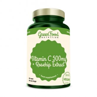 GreenFood Vitamin C + csipke kivonat 60 kapszula