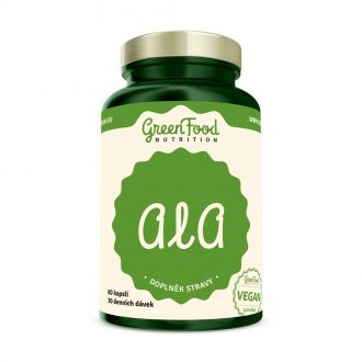 GreenFood Nutrition ALA vegan caps