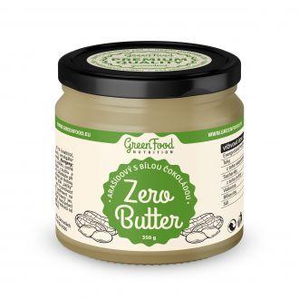 GreenFood Nutrition ZERO BUTTER Arašídový s bílou čokoládou