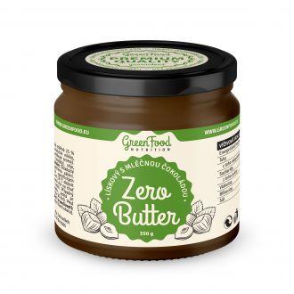 GreenFood Nutrition ZERO BUTTER Lískooříškový s mléčnou čokoládou