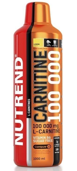 Nutrend CARNITINE 100000 1000ml + Nutrend Synephrine