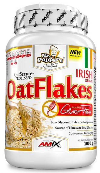 Mr Poppers Gluten Free Oat flakes 1000g