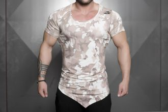 Body Engineers Nocte T-shirt Sand Camo