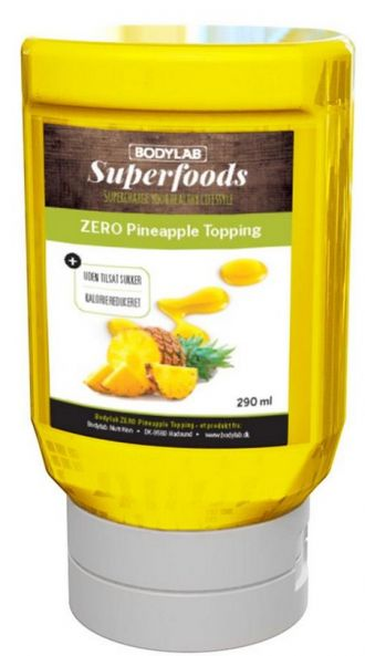 Bodylab Zero Topping Syrup 290ml ananász