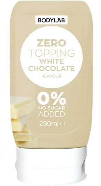 Bodylab Zero Topping Syrup 290ml fehér csokoládé