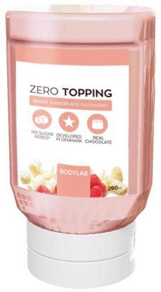 Bodylab Zero Topping Syrup 290ml fehér csoki málna