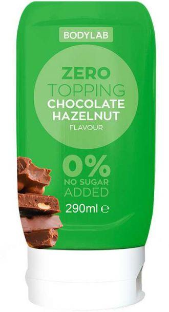 Bodylab Zero Topping Syrup 290ml csokoládé erdei mogyoró