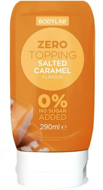 Bodylab Zero Topping Syrup 290ml caramel