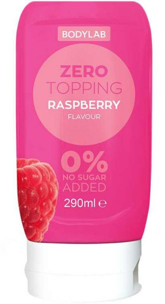 Bodylab Zero Topping Syrup 290ml málna
