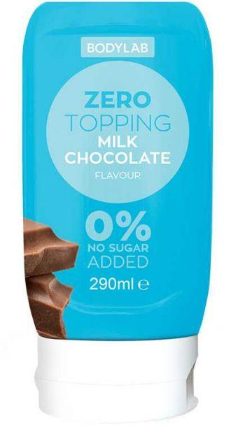 Bodylab Zero Topping Syrup 290ml tejcsokoládé