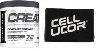 CELLUCOR COR-Performance Micronized Creatine + Cellucor Towel GRATIS