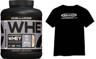 CELLUCOR COR-Performance Whey 1800g + T-shirt MuscleTech