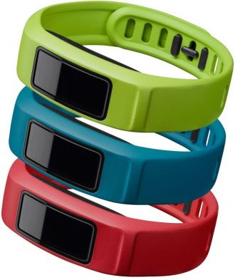 Garmin vivofit2 cserélhető szíj red, blue, green 120 - 175mm