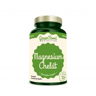 Előnézet - GreenFood Nutrition Magnesium Chelated vegan caps
