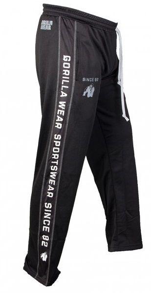 GORILLA WEAR Functional Mesh Pants Black/White
