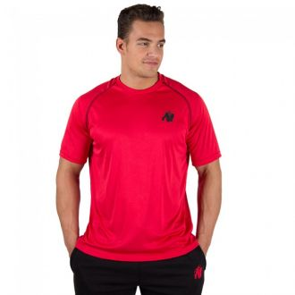 Performance t-shirt Black/red