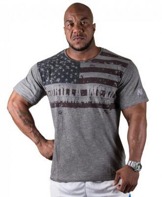 GORILLA WEAR USA Flag T-Shirt