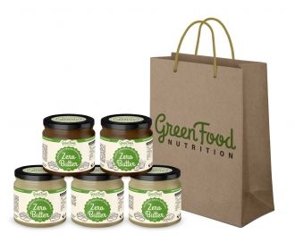 AKCIÓ 4+1 GRATIS GreenFood Nutrition ZERO BUTTER + Ajándék táska