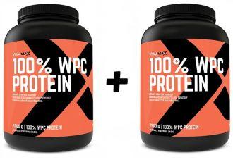 Vitalmax 100% WPC PROTEIN 1+1