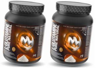 MaxxWin 100% Micronized L-Glutamine 300g + 300g GRATIS