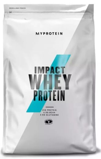 MyProtein Impact Whey Protein 2500g chocolate brownie