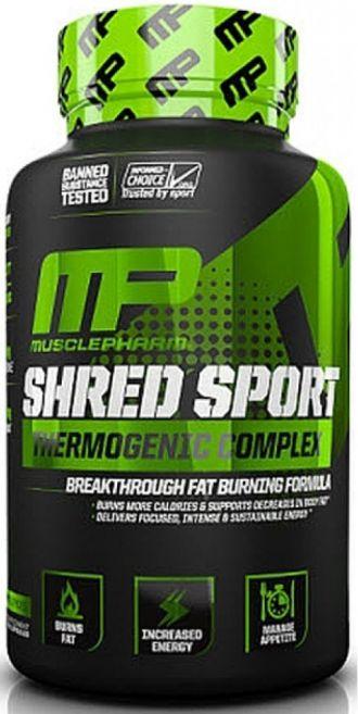 MusclePharm SHRED SPORT  60 cps