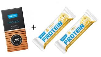 Max Sport PROTEIN Csokoládé + 3x Slim Zone Protein Bar GRATIS