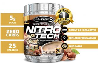 MUSCLETECH NITRO-TECH Amino Boost 30serv.