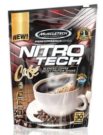 Muscletech NITRO-TECH Café 30 serv.