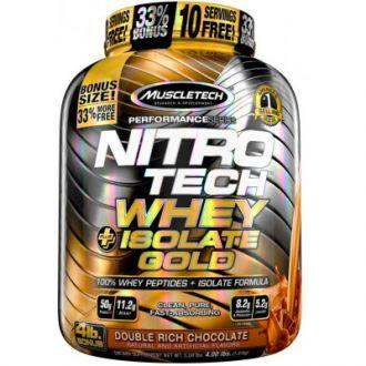 Muscletech Nitro-tech+ Isolate Gold 4 lbs