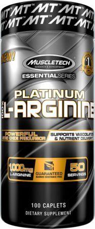 Muscletech Platinum 100% L-Arginine 100 tabletta