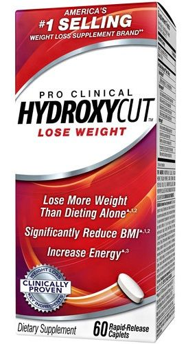 Muscletech HYDROXYCUT Pro Clinical 60cps.