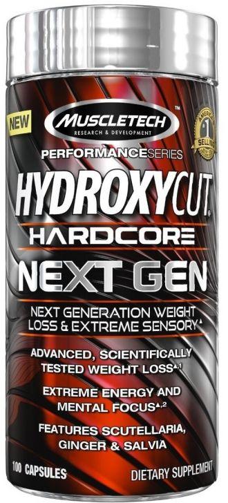 MuscleTech Hydroxycut NEXT GEN 100kps