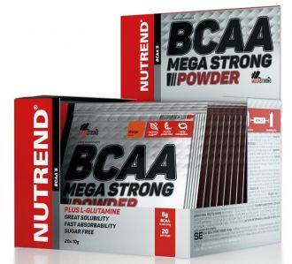 NUTREND BCAA MEGA STRONG POWDER 20x10g