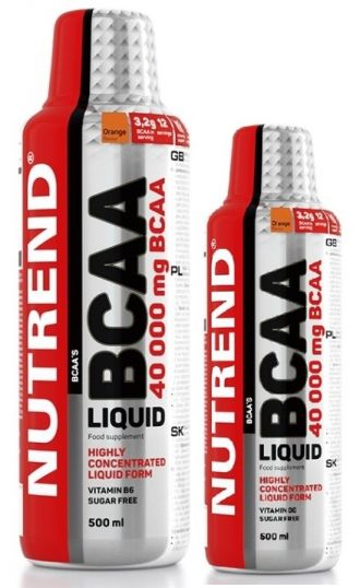 Nutrend AMINO BCAA MEGA STRONG 1000 + 500 ml