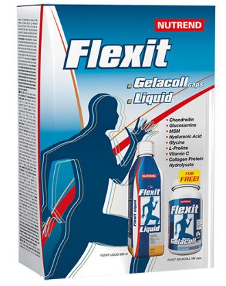 Nutrend FLEXIT LIQUID GELACOLL 500ml + 180caps