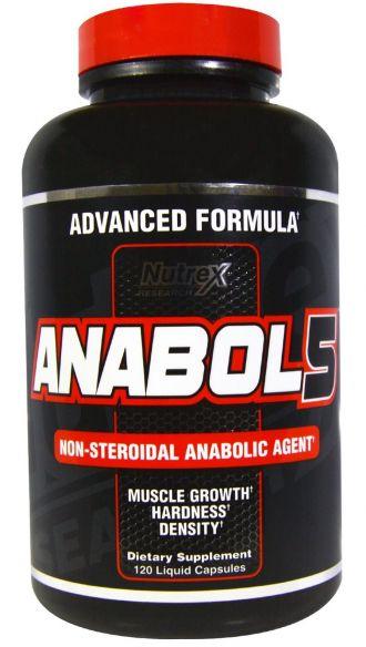 Nutrex ANABOL-5 BLACK 120 Caps