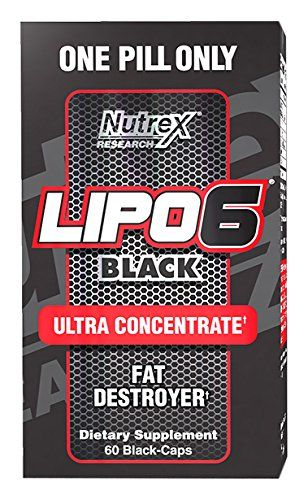 Nutrex Lipo 6 BLACK Ultra Concentrate 60 kps