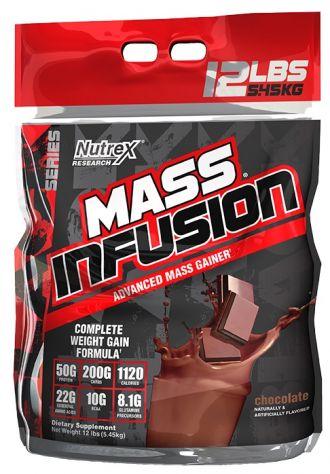 Nutrex Mass Infusion 5450g + Nutrex OUTLIFT 5 adag AJÁNDÉK