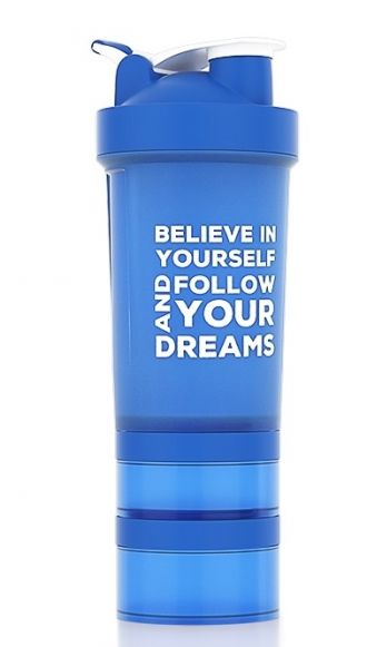 NUTREND Shaker 450 ml+ kék